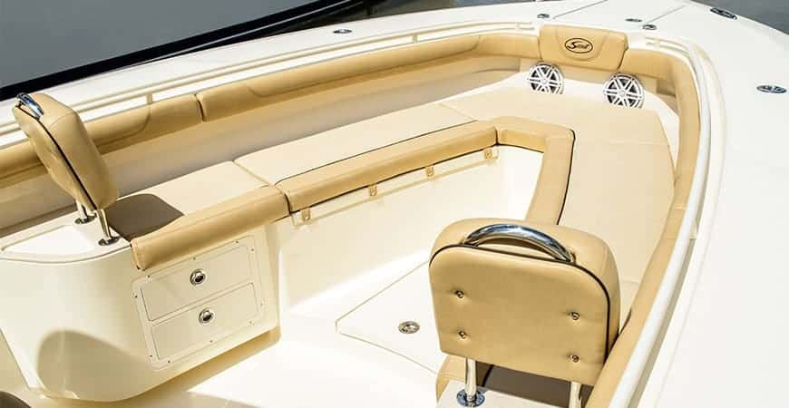 320 LXF Bow Seating