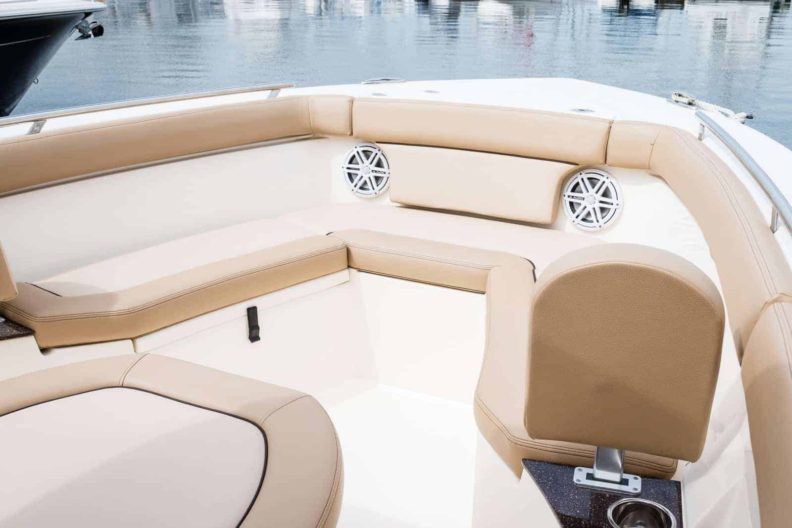 235XSF bow seating area