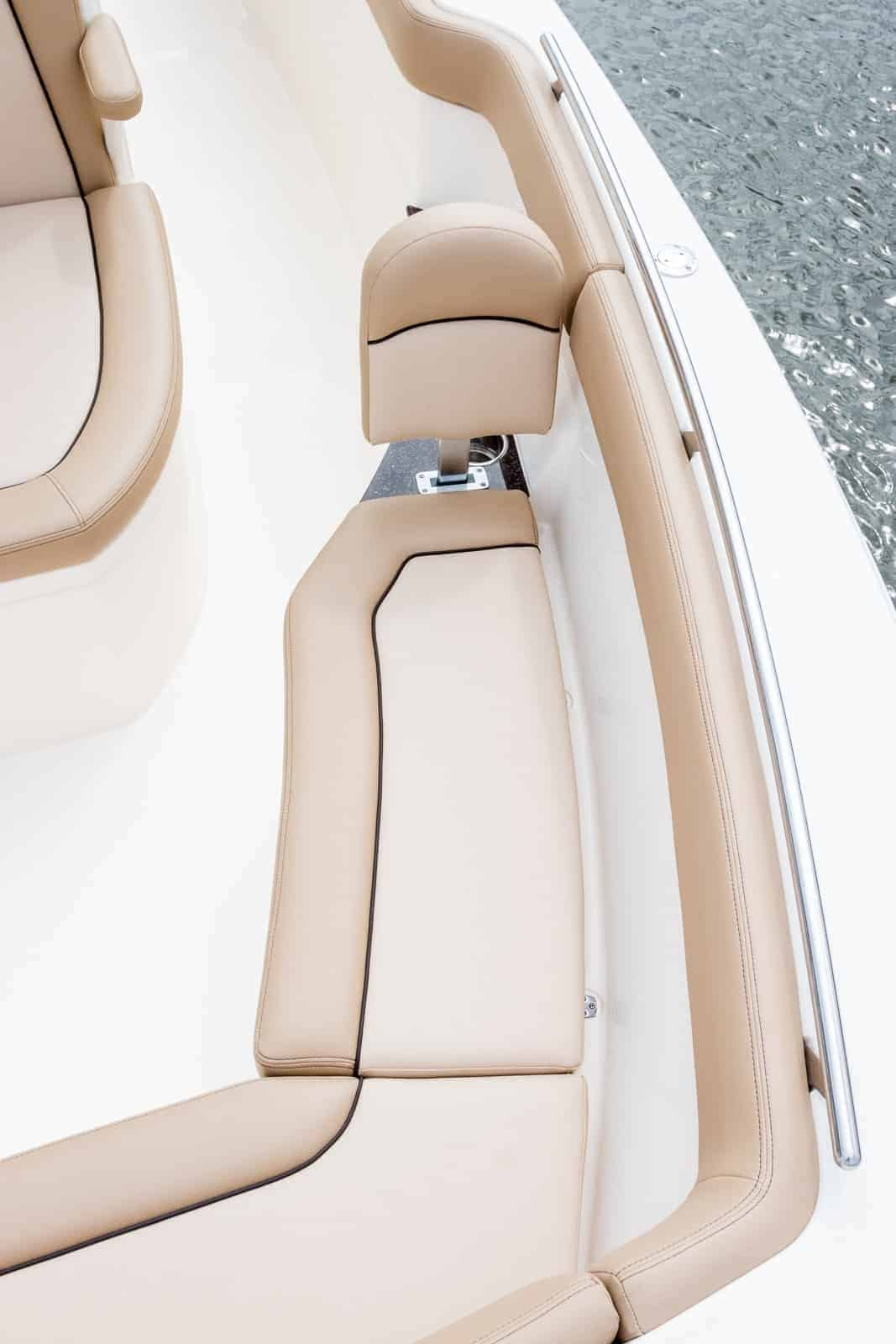 235XSF port side bow seating