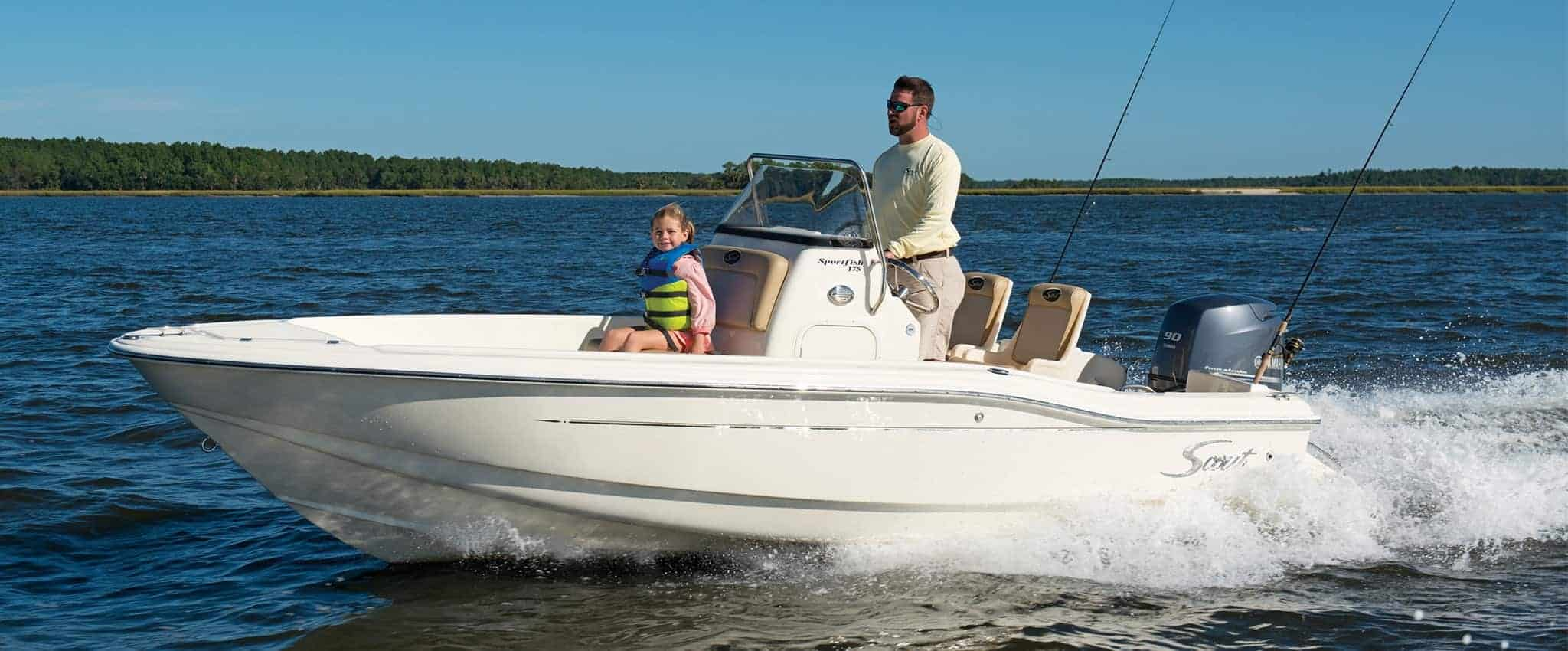 Scout 175 Sportfish - Center Console Sport Fishing Boat