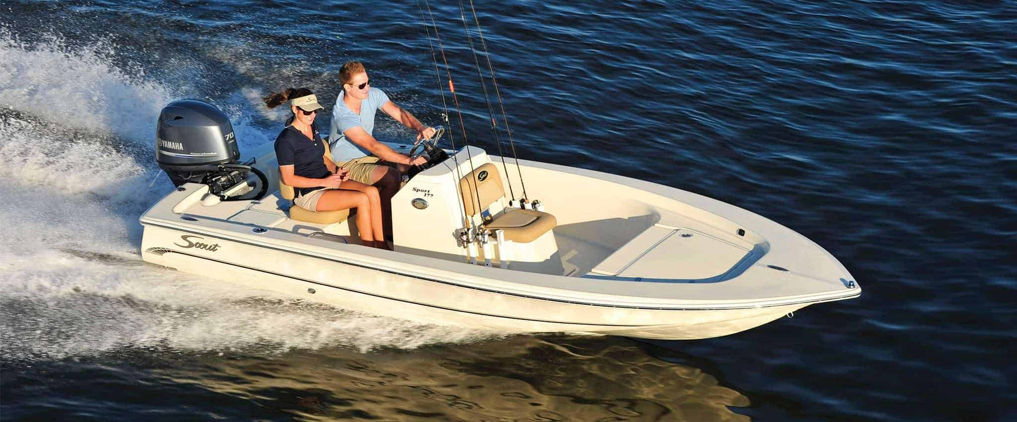 Scout 177 Sport - Center Console Flats Fishing Boat
