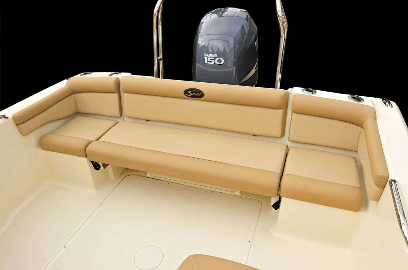 210D transom bench seat