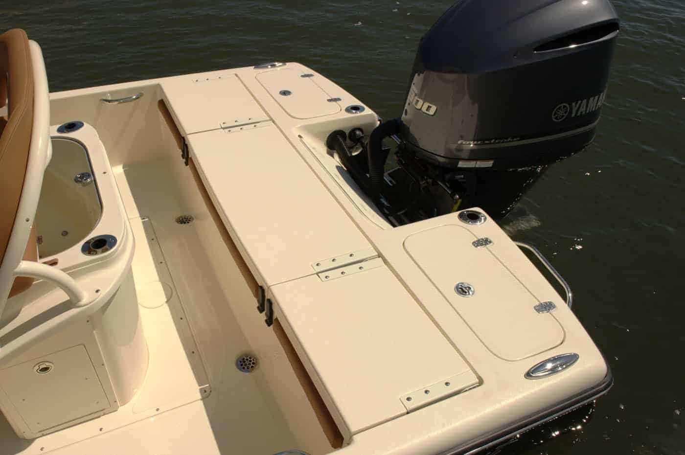 251XSS transom seating down