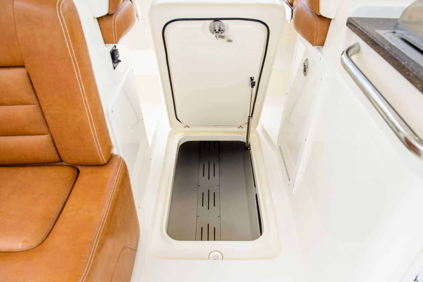 255D in deck storage compartment