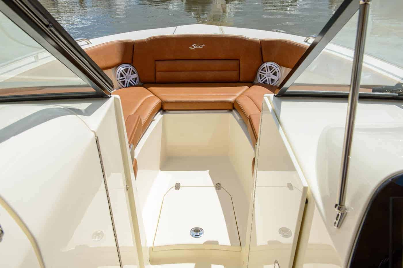 255D bow seating without filler cushion