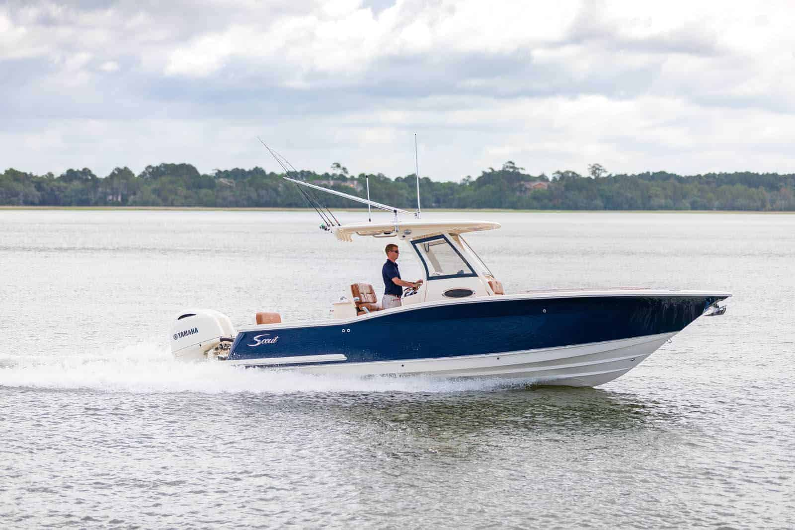 277 LXF running on water