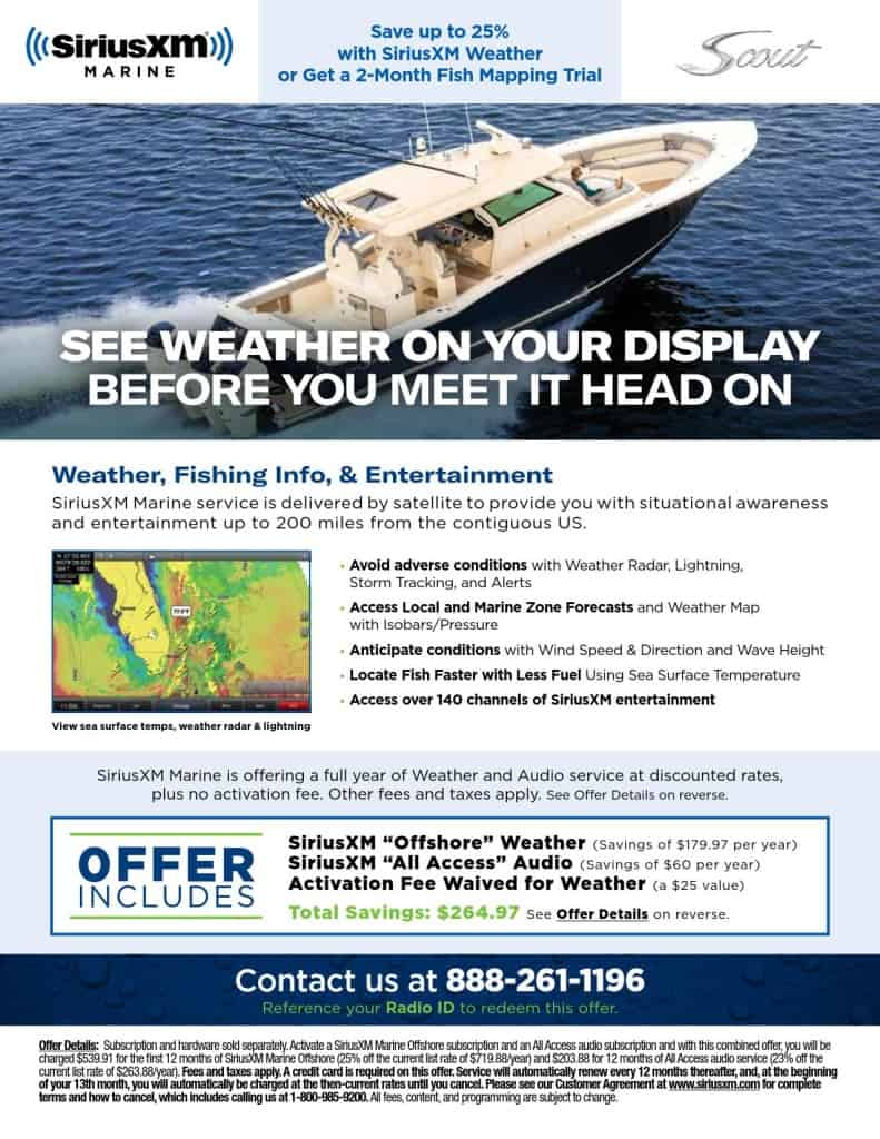 SXM One Sheet Scout Boats 2